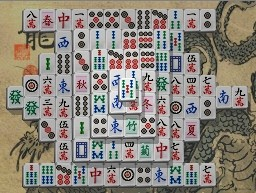 Clássico Mahjong Solitaire com layout Pyramid