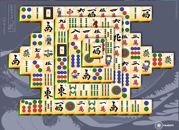 Jogo Mahjong Titans do Windows