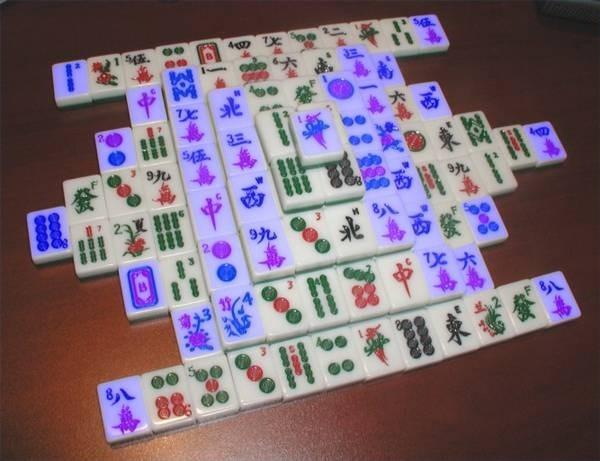 Mahjong Peças Livres