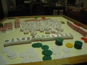 Mesa de Mahjong