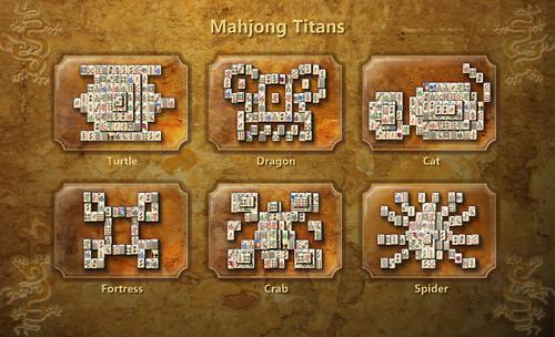 Opções de Mesa no Mahjong Titans