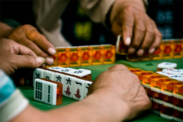 Pedras no Mahjong Tradicional