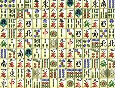 Pedras do Jogo Mahjong